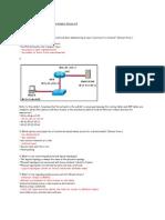 CCNA Exploration 1 Module 7 Exam Answers Version 40