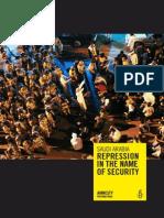 Amnesty Int - Saudi Arabia Report