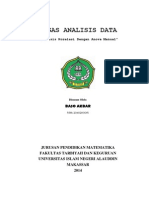 Tugas Analisis Data - Anova