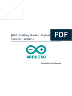 Getting Started - Introduction to Embedded System and Arduino