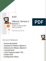 Curso Gratuito VMware vSphere 5 ONLINE - Instalar y Configurar ESXi