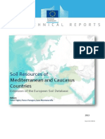 Soil Resources of Mediterranean Countries