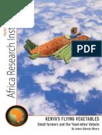Kenyas Flying Vegetables - Small Farmers and the Food Miles Debate