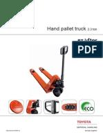 Hand Pallet Truck_lhm 230