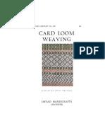 1 Card Weaving
