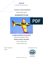 FLY MODEL SIAI MARCHETTI SF-260 ARF 120 RC