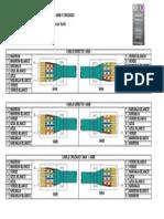 CONSTRUCCIÓN CABLE LAN DIRECTO 586A – 586B Y CRUZADO