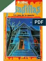 La casa de la muerte (Pesadillas � 4) de R.L. Stine v1.0.pdf