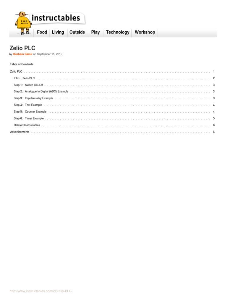 Zelio Plc Volt Switch Wiring Diagram