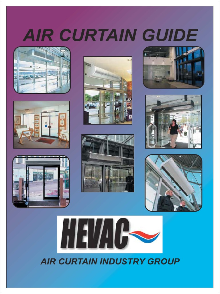 Air Curtain Guide Design Hvac Heating Ventilating And Air Conditioning