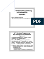 MFC Windows Programming_Document_View Approach