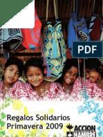 Catálogo Regalos Solidarios