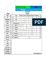 FA 2013 Study Schedule by Pages