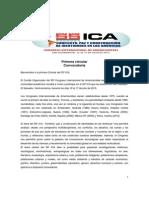 Primera Circular 55 ICA en PDF