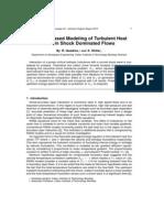 Physics Based Modeling of Turbulent Heat Flux