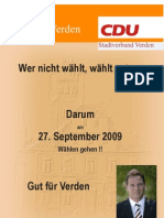 BTW Flyer Wahlaufruf