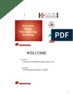Wisconsin Pt Workshop Notes