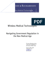 WhitePaper on FDA Guidance for Wireless Medical Technologies