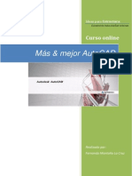 AutoCAD - Diseño Cerchas I