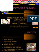 ANILKUMAR R SUROTIA-Presentation Recruitment Consultant