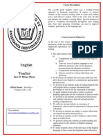 english syllabus 2013-14