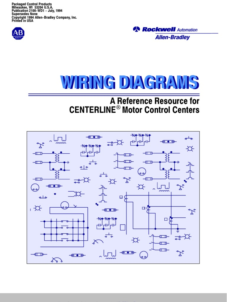 Allen Bradley Wiring Diagram Book Phase Stop Start 2100 Gas Golf Cart Images For Star Dley C Automotive Square D Motor Control Center Solidfonts Schematics And Diagrams If