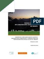 Teorias e Praticas em construções sustentáveis no Brasil