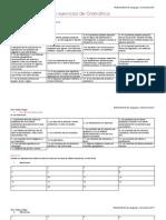 Guía de Contenidos y ejercicios de Gramática