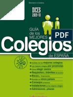 DICES 2009-10. Guia de los Mejores Colegios de España