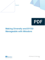 Making Diversity and BYOD Manageable With Miradore