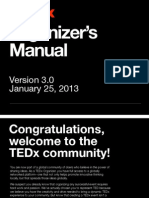 Ted x Manual