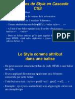 Les Feuilles de Style en Cascade - CSS