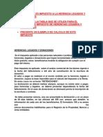 Tarea Herencia Legados y Donaciones Gonzalo Chavez