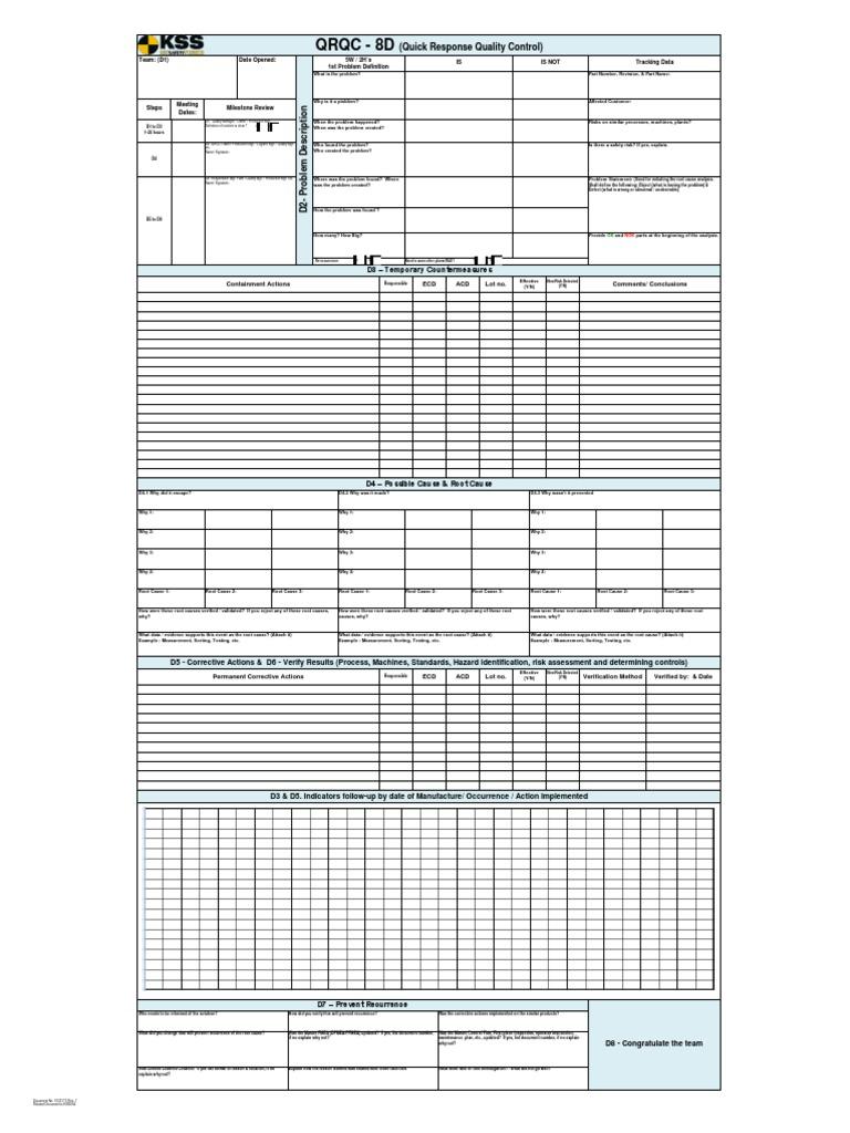 1033173 plant qrqc form