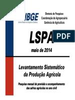 Brasil - Levantamento Sistemático da Produção Agrícola - IBGE
