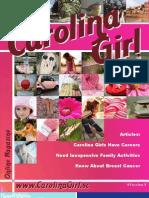Carolina Girl Magazine (09/14/2009)