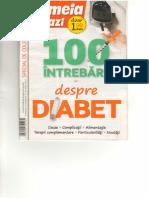 100 Intrebari Despre Diabet - Femeia de Azi
