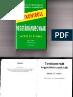 Jackie Le Tissier - Testkontroll vegetariánusoknak