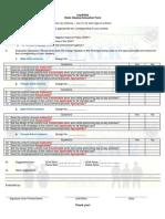 Cop Walk 2 Evaluation Questionnaire