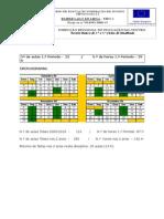 1.Período - Programa das aulas 2009-2010