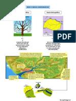 Rede e bacia hidrográfica (8.º)