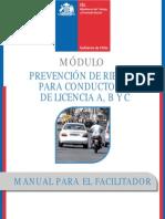 manual facilitador Prevención de Riesgos para Conductores y conductoras de licencia A, B Y C.pdf