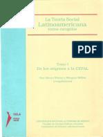 A teoria social da américa latina tomo 1 - Ruy mauro marini