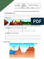 Ficha Formativa - O relevo terrestre (8.º)