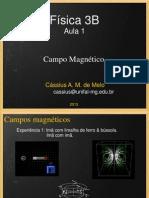 Aula 1 - Campo Magnético