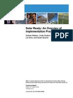 Solar Implemetntaion 1