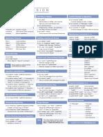 Subversion Cheat Sheet v1 for SVN