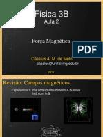 Aula 2 - Força Magnética