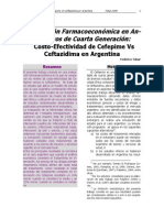 Evaluacion Costo Efectividad Cefepime vs Ceftazidima