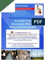 Philippine Business Forum in London 2009 Brochure